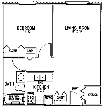 Bethel floor plan