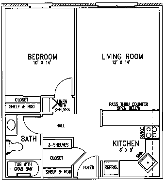 Faith floor plan