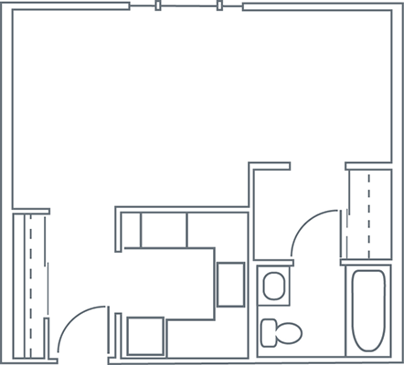 This image has an empty alt attribute; its file name is good-shepherd_studio_floor-plan-2.png