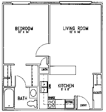 Good Shepherd floor plan