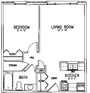 Luther floor plan