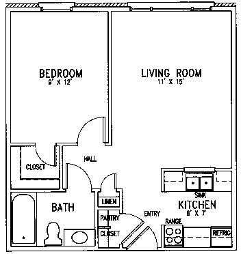Lutheran floor plan