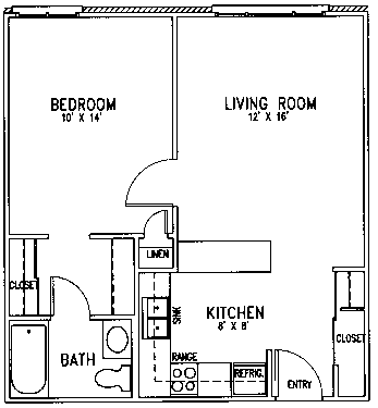 Martin Luther floor plan