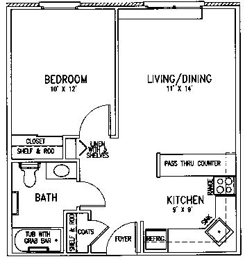 Redeemer floor plan