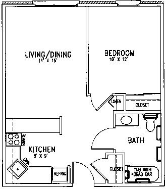 St Mark floor plan