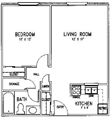 Trinity floor plan